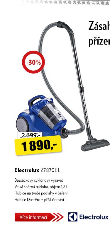 Vysavač Elektrolux Z7870EL