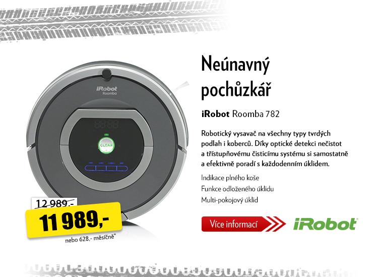 Robotický vysavač iRobot Roomba 782