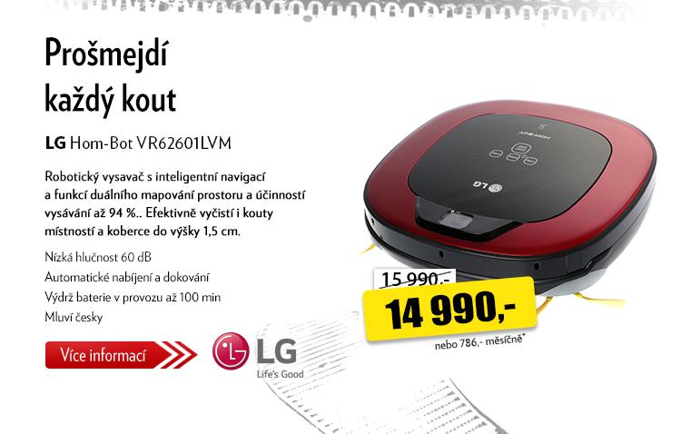Robotický vysavač LG Hom-Bot 62601LVM