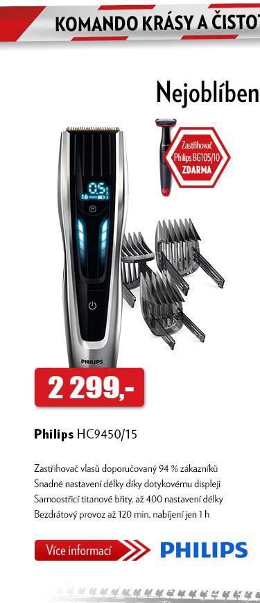 Zastřihovač vlasů Philips HC9450/15