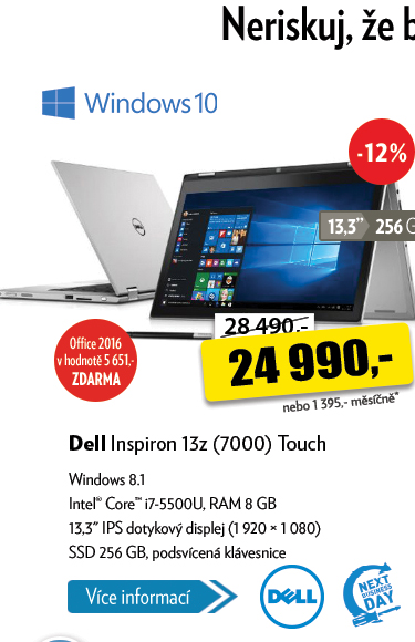 Notebook Dell Inspiron 13z Touch