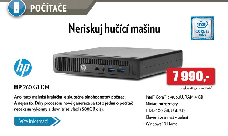 Počítač HP 260 G1 DM