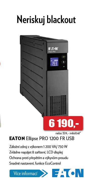 Záložní zdroj Eaton Ellipse PRO 1200 FR USB