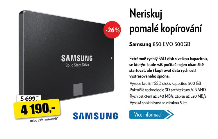 SSD disk Samsung 850 EVO 500GB