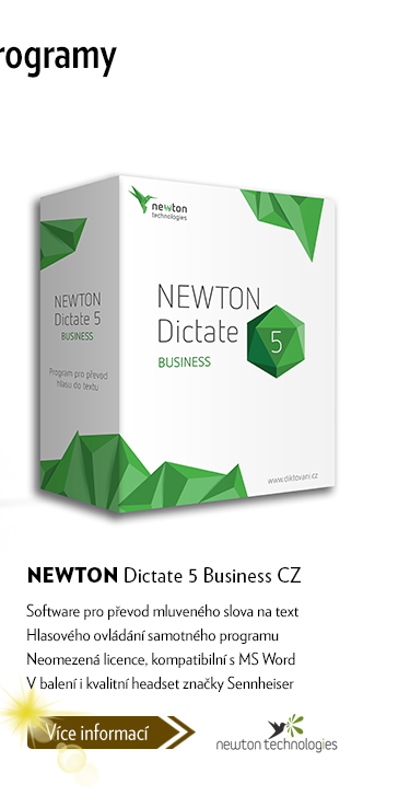 NEWTON Dictate 5 Bussiness CZ