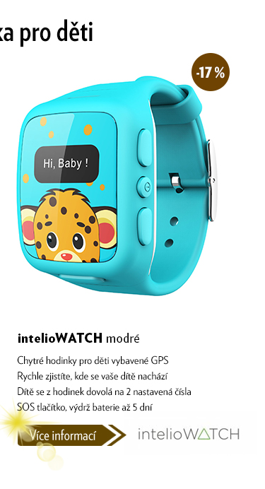 Chytré hodinky intelioWATCH