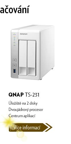 Datové úložiště QNAP TS-231