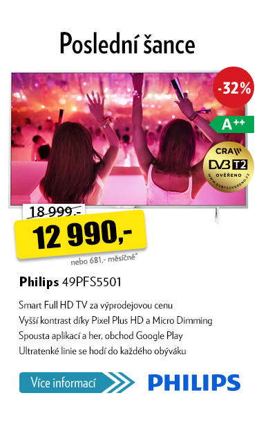 "televize 49"" Philips 49PFS5501"