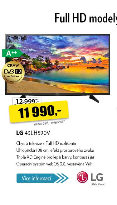"""televize 43"""" LG 43LH590V"""