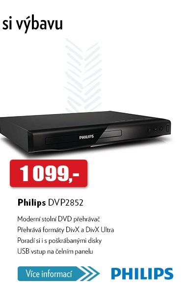 stolní DVD přehrávač Philips DVP2852