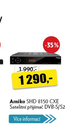 satelitní přijímač Amiko SHD 8150 CXE