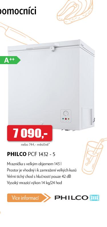 Mrazák Philco PCF 1432 - 5