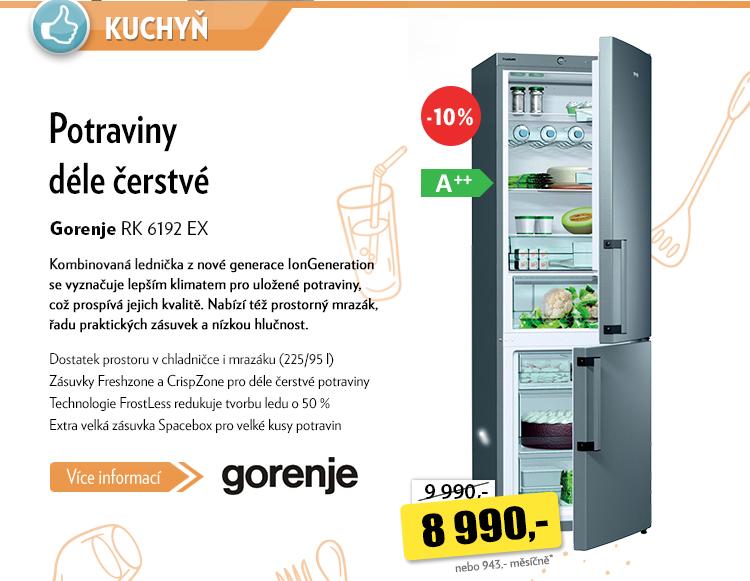 Lednice Gorenje RK 6192 EX