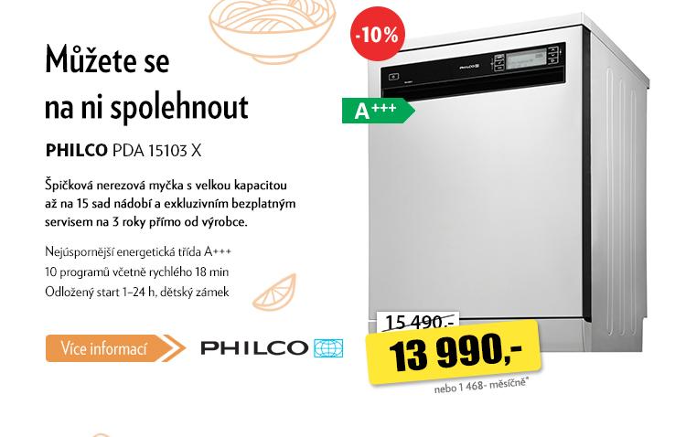 Myčka Philco PDA 15103 X