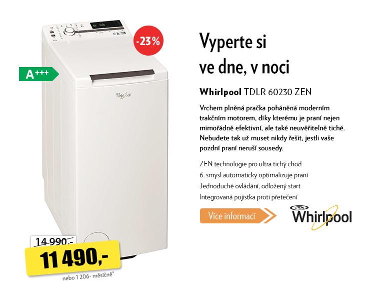 Pračka Whirlpool TDLR 30230 ZEN