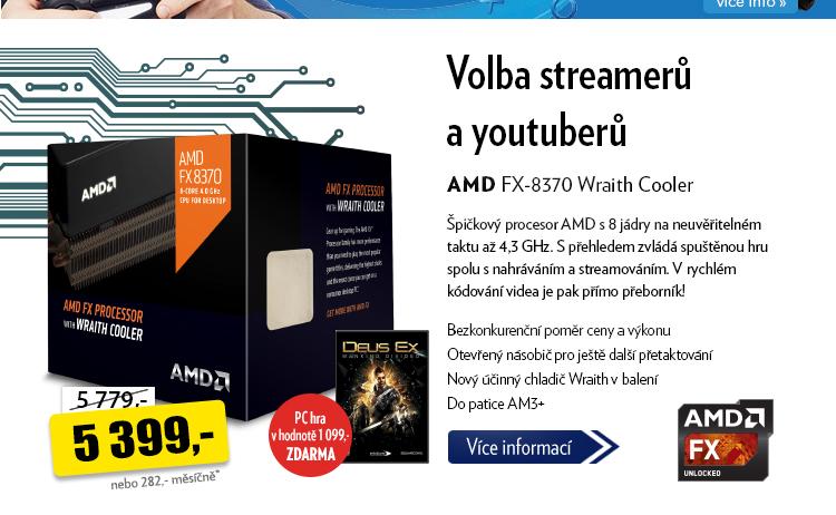 Procesor AMD FX-8370 Wraith Cooler