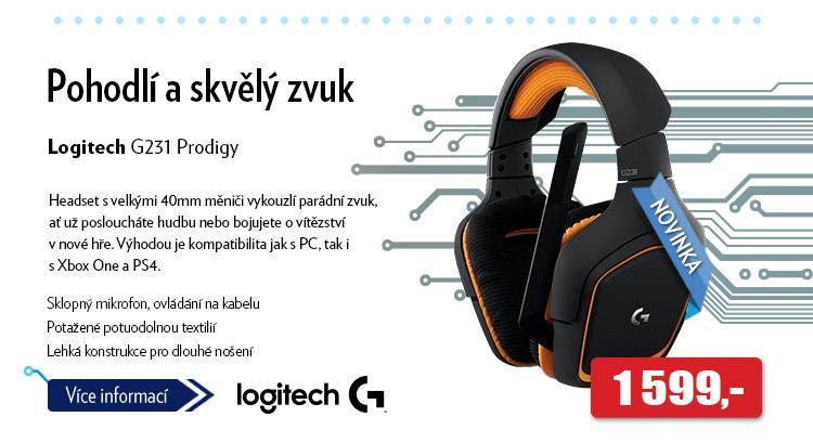 Headset Logitech G231 Prodigy