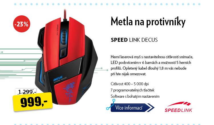 Herní myš Speed Link Decus
