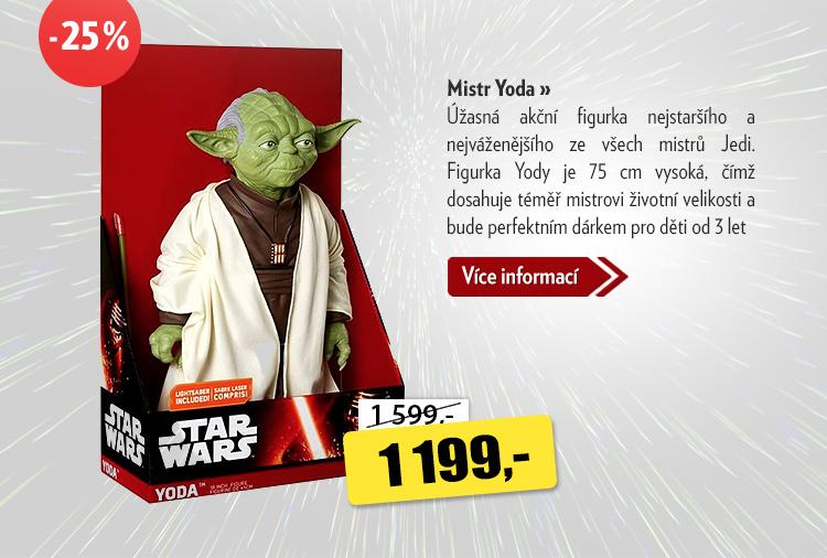 Akční figurka Mistr Yoda
