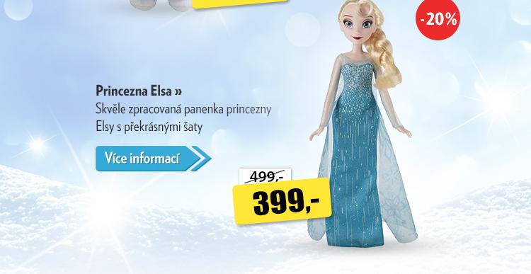 Princezna Elsa panenka