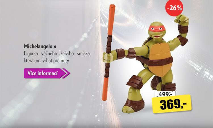 Želvy ninja Michelangelo figurka