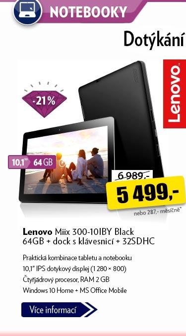 Notebook Lenovo Miix 300-10IBY