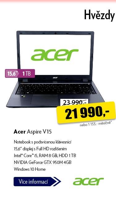 Notebook Acer Aspire V15