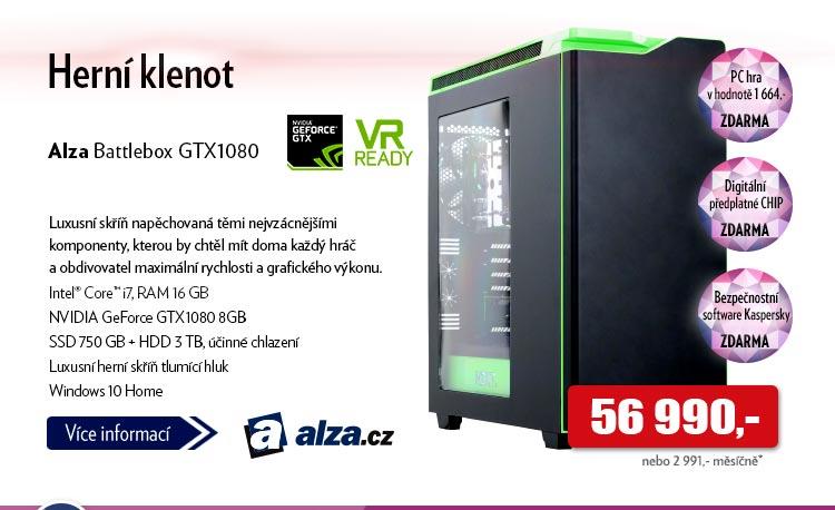 Počítač Alza Battlebox GTX1080