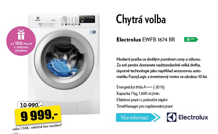Pračka Electrolux EWFB 1674 BR