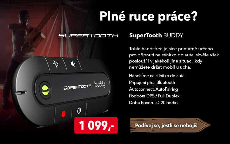 Handsfree SuperTooth Buddy