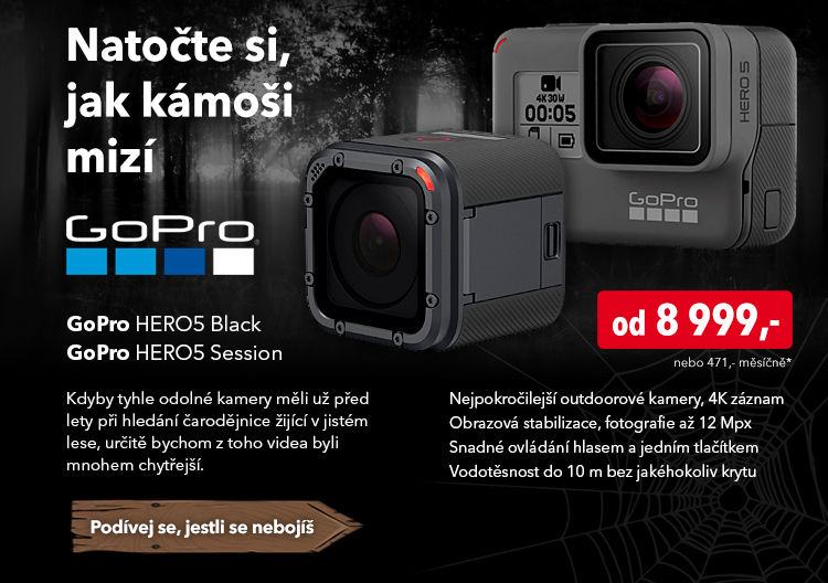 Kamera GoPro Hero5 Black / Session