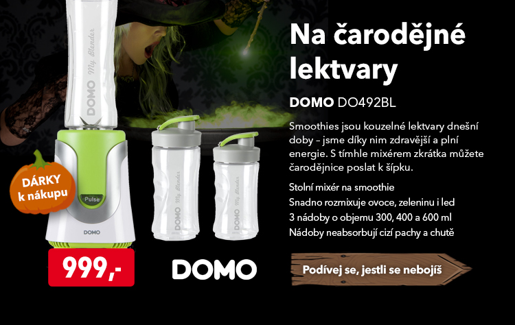 Smoothie maker Domo DO492BL