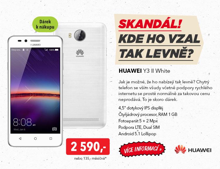 Smartphone Huawei Y3 II