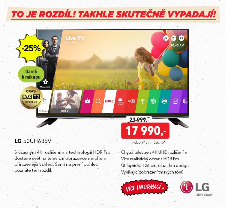 Televize LG 50UH635V