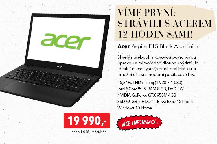 Notebook Acer Aspire F1-5