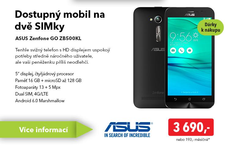 Smartphone Asus Zenfone GO ZB500KL