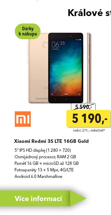 Smartphone Xiaomi Redmi 3S LTE