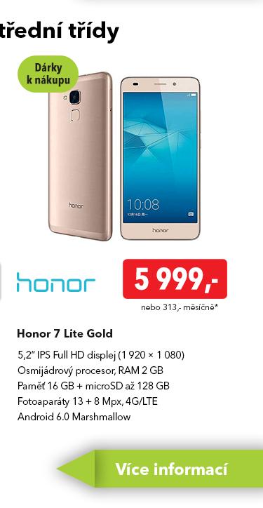Smartphone Honor 7 Lite
