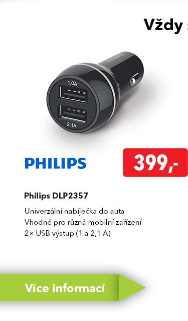 Nabíječka do auta Philips DLP2357