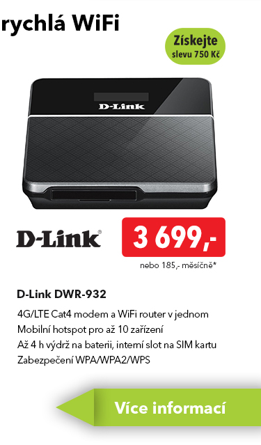 WiFi router D-Link DWR-932