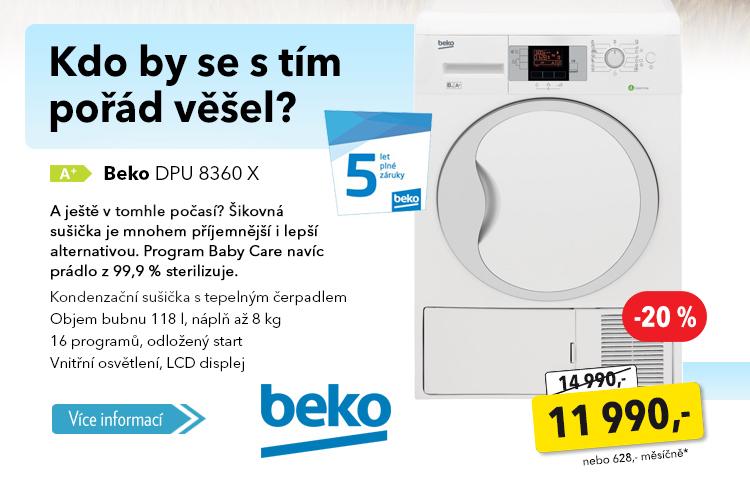 Sušička Beko DPU 8360 X