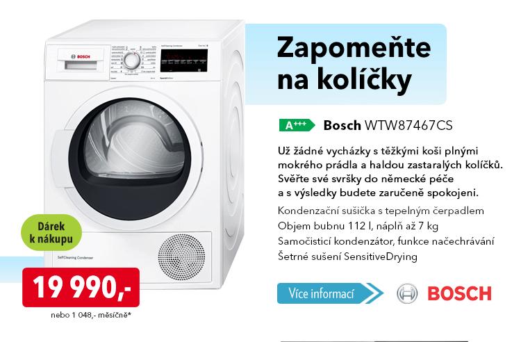 Sušička Bosch WTW87467CS