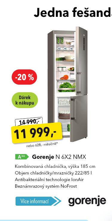 Lednička Gorenje N 6X2 NMX