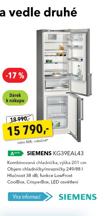 Lednice Siemens KG39EAL43