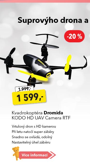Kvadrokoptéra Dromida Kodo HD UAV Camera RTF