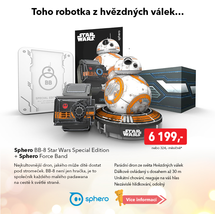 Robot Sphero BB-8 Star Wars Special Edition