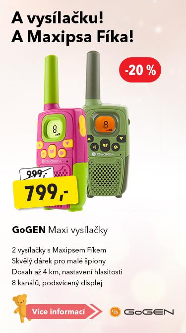 GoGen Maxi vysílačky