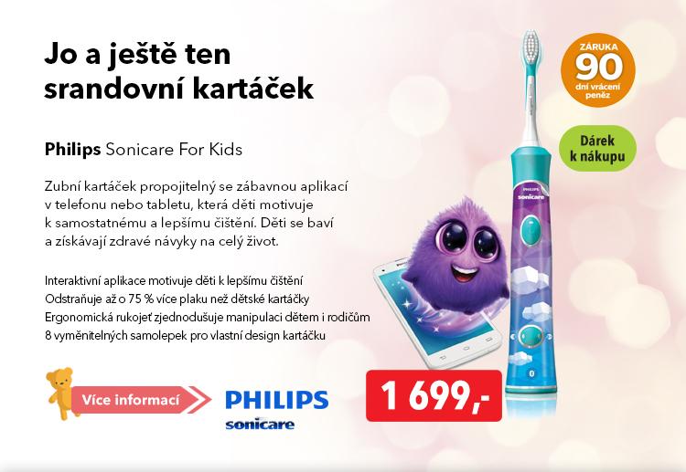 Kartáček Philips Sonicare For Kids