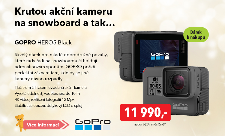Akční kamera GoPro Hero5