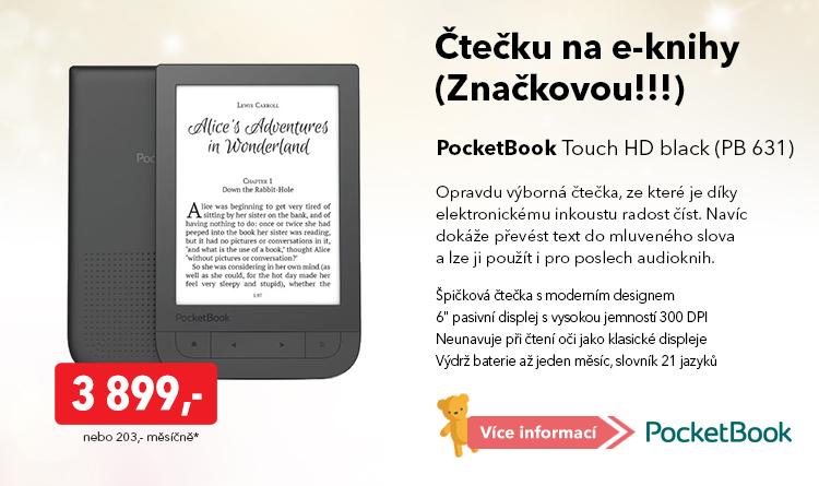 Čtečka PocketBook Touch HD